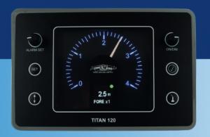 TITAN 120 Echo sounder display