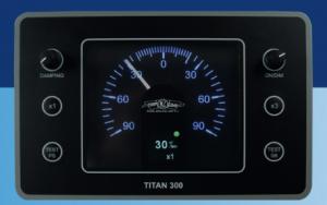 TITAN 300 Rate of turn display unit 90⁰-270⁰