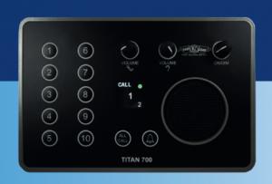 TITAN 700 Intercom main station