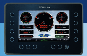 TITAN 1100 Engine panel