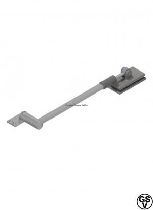 Door stay for heavy glass doors Stainless steel / 5820 GMA