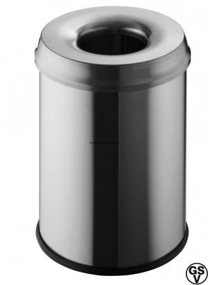 Waste bin with cover-ring 15L / GSV-Nr. 7947 N