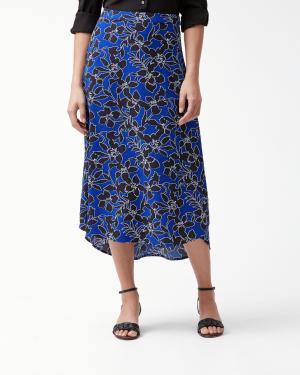 Forte Floral Midi Skirt