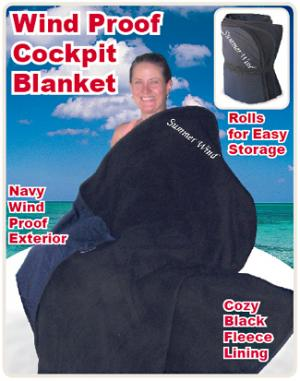 Personalized Cockpit Blanket
