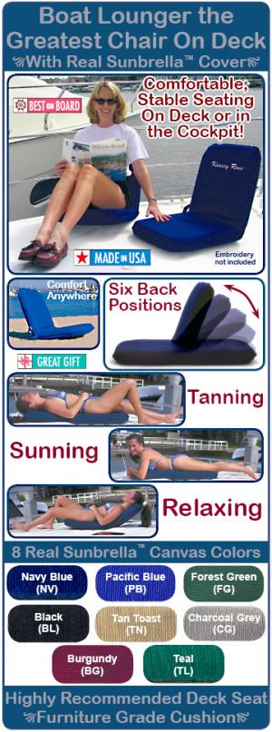 Sport-a-Seat Boat Lounger