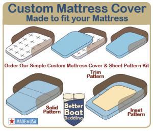 Custom Made Mattress Cover
