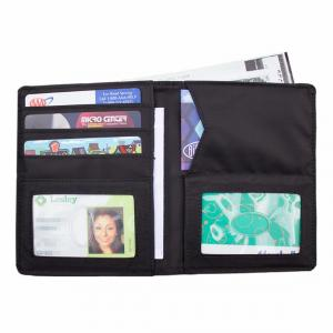 Traveler Wallet Thin Micro Fiber