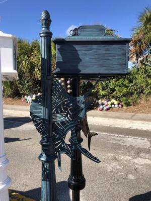 SAILFISH HIGH QUALITY CAST ALUMINUM MAILBOX – Broward Casting