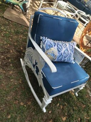 *BRAND NEW* Outdoor Furniture Sailfish Series Rocking Chair – Broward Casting