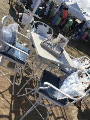 Fish Series Outdoor Bar Table and Chairs – Broward Casting