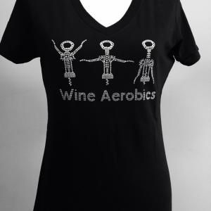 Wine Aerobics Short Sleeve Top