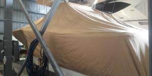 Custom boat covers