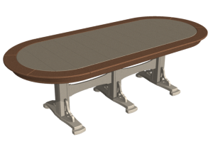 8 Seat Trestle Tables
