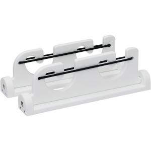 Folding 2 Rod Load-N-Lock Gunwale Mount Rod Holder