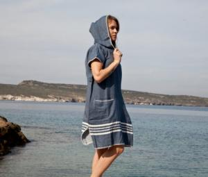 Beach Cover Up with Hood