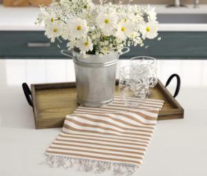 Striped Mini Towel ( Set of 2 )