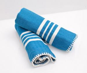 Farmhouse Hand Towel , Without Fringes ( Set of 2 )