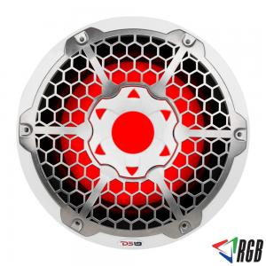 "HYDRO 10"" MARINE SUBWOOFER WITH INTEGRATED RGB LIGHTS 550 WATTS WHITE ITEM # NXL10SUB"