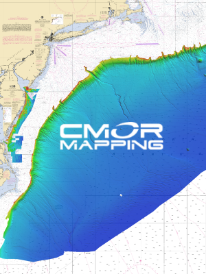 Mid-Atlantic CMOR Card — High-resolution Digital Fishing and Diving Maps and Charts | CMOR Mapping