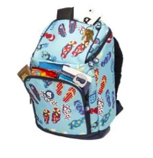 Backpack Cooler - Asst Patterns