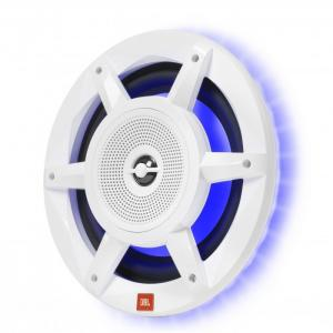 "Powerful 8"" speakers with 500 Watts per speaker, and full Perimeter lighting with RGB"