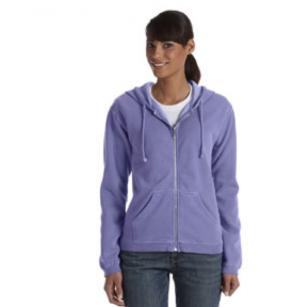 C1598 Comfort Colors Ladies' Full-Zip Hooded Sweatshirt