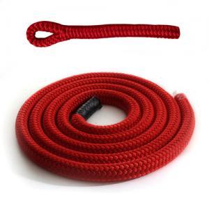 Burgundy braidline - solid braided rope for boat fender