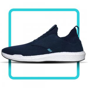 Milano by Skuze Shoes - Navy & White