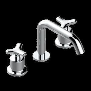 Widespread lavatory set with drain | G7F-151/US — Bondi — THG