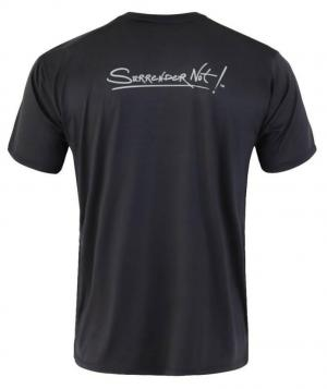Surrender Not! Black T-Shirt