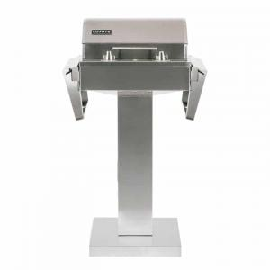 Electric Grill with Pedestal Stand