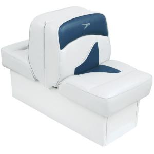 WISE SEATING Deluxe Lounge Seat - White/Navy