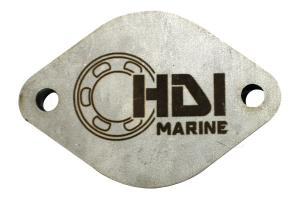 D46C Exhaust Elbow Cover Plate