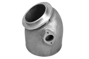 DET4 + DETB180 Stainless Steel Mixing Elbow