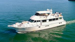 ALMOST THERE, 74' Hatteras MY